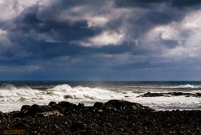 """Storm Warning"" - Brace's Cove, Gloucester, MA"