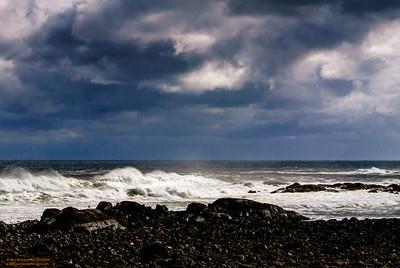 """Storm Warning"" - Brace's Cove, Gloucester, MA"