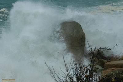 """""""Power"""" - Hurricane Sandy off of Magnolia Shore Road, Gloucester, Massachusetts"""