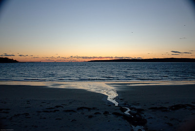 Niles Beach at Dusk