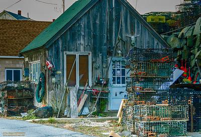 """Fisherman's Shack"" Pigeon Cove - Gloucester, Massachusetts"