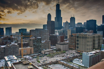 """From My Room - Willis Tower"" Chicago, Illinois"