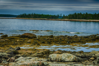"""Tides and Tide Pools"" - near Southwest Harbor, Maine"