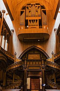 """""""Organ in Chapel of Notre-Dame du Sacré-Cœur"""""""