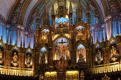 """Altar - Notre Dame Basilica of Montreal"""
