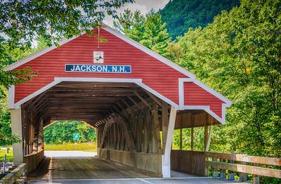 Covered Bridge - Jackson, New Hampshire
