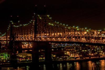 """""""Illuminated -59th Street Bridge"""""""