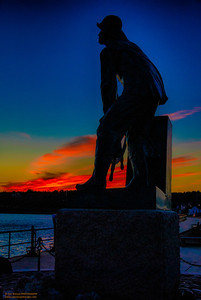 """Fisherman's Memorial - 1"" Gloucester, Massachusetts"