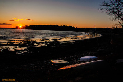 """Until Tomorrow Redux"" - Magnolia Beach, Gloucester, MA"