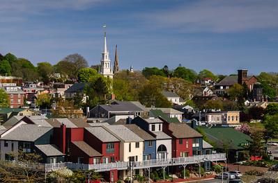 Newport Brickyard and Skyline