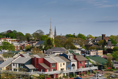 Brickyard, Trinity Church and St. Mary's Church - Newport, RI