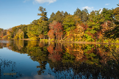 """""""Perfect Autumn Day at Beck Pond"""""""