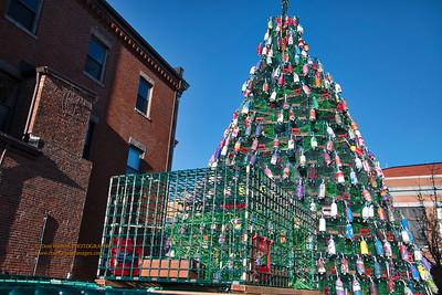 """Lobster Trap Christmas Tree"""