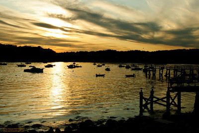 Toward Dusk at Magnolia Harbor, Gloucester, MA