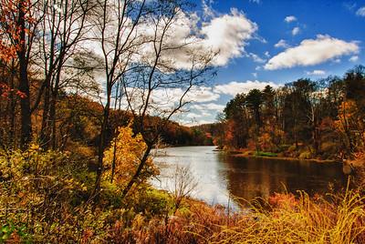 """Along the Housatonic River"" - in HDR - Stockbridge, MA"