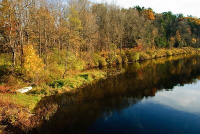 Riverbank Canoie