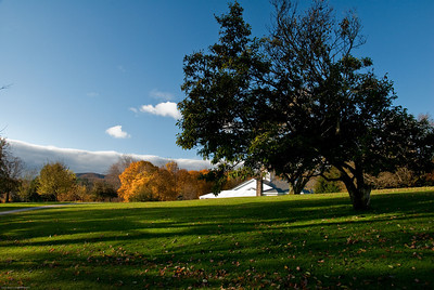 Grounds of the Norman Rockwell Museum