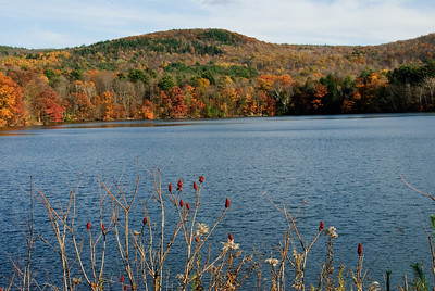 Autumn at Queechy Lake - New York