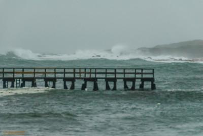 """Off Magnolia"" - Hurricane Sandy, Gloucester, Massachusetts"