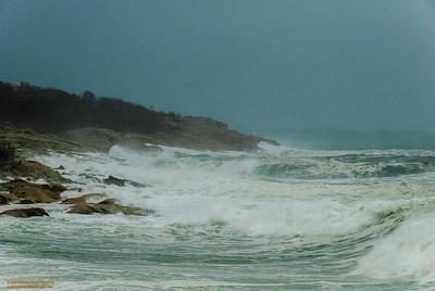 """Sandy's Surge"" - Hurricane Sandy - Magnolia Shore, Gloucester, Massachusetts"