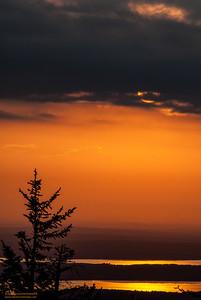 """""""Setting Sun"""" - Cadillac Mountain, Acadia National Park, Maine"""