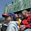 Bleacher Bums at Wrigley Field - Apr 25, 2002
