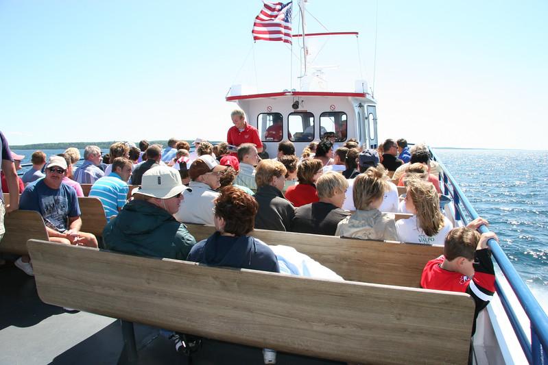 Mackinac Island with Ray and Shirley - July 6, 2005