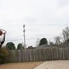 Mark Kremer - shotting baskets - Jan 30, 2005