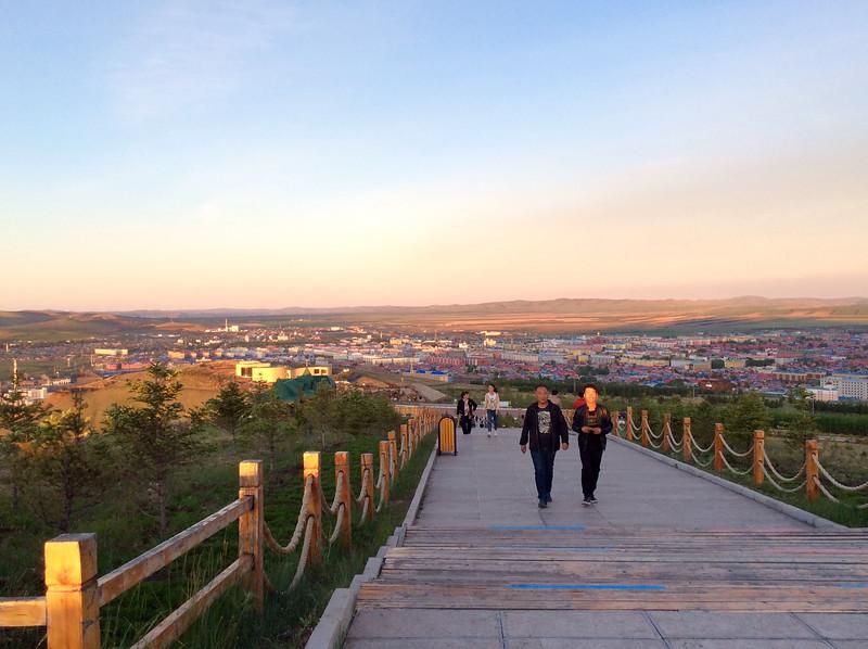 Colleen Kremer at Erguna, Hulun Buir, Inner Mongolia, China - Jun 9, 2016