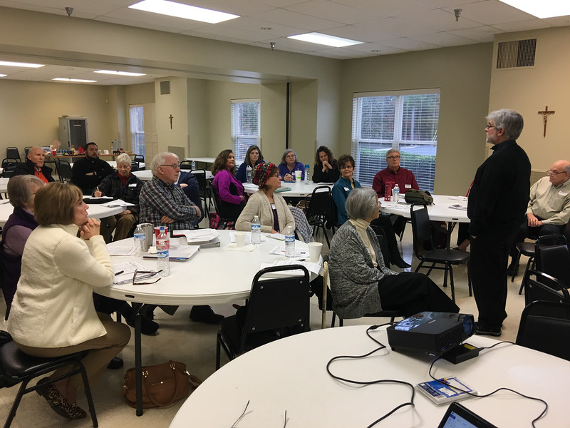 Jan 14, 2017 - Spiritual Director Meeting at Marche