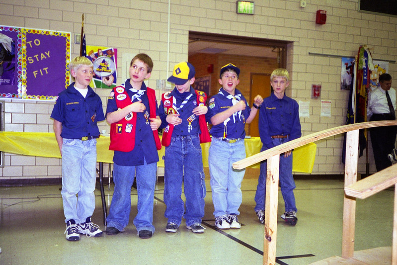 Cub Scout graduation?
