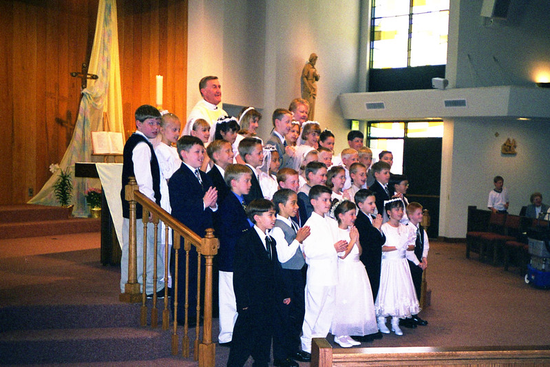 Mark Kremer's 1st Communion