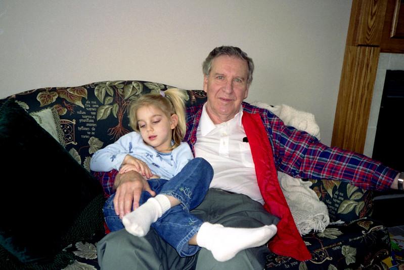 Montie's visit - Feb 26, 2000