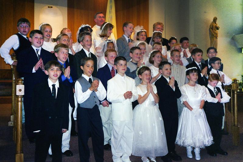 Mark Kremer's 1st Communion