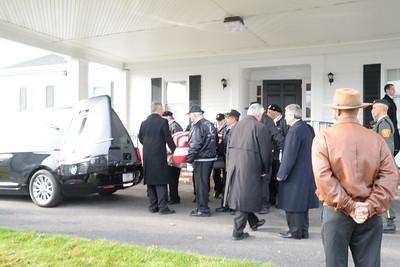 Donald Depina's Funeral Services (Vietnam Veteran)
