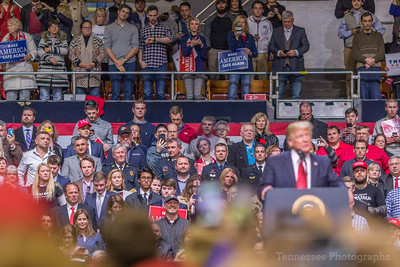 Donald Trump Rally Downtown Nashville 3/15/17