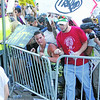 Protesters break the barrier in front of the Albuquerque Convention Center at a Donald Trump Rally on Tuesday, May 24, 2016. Luis Sanchez Saturno/The New Mexican