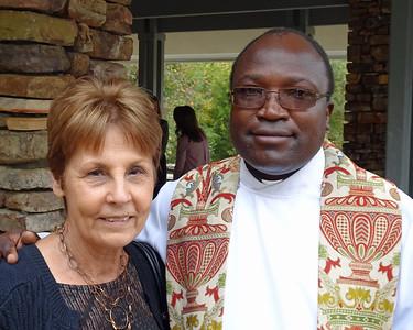 Sophia and Father Wakube