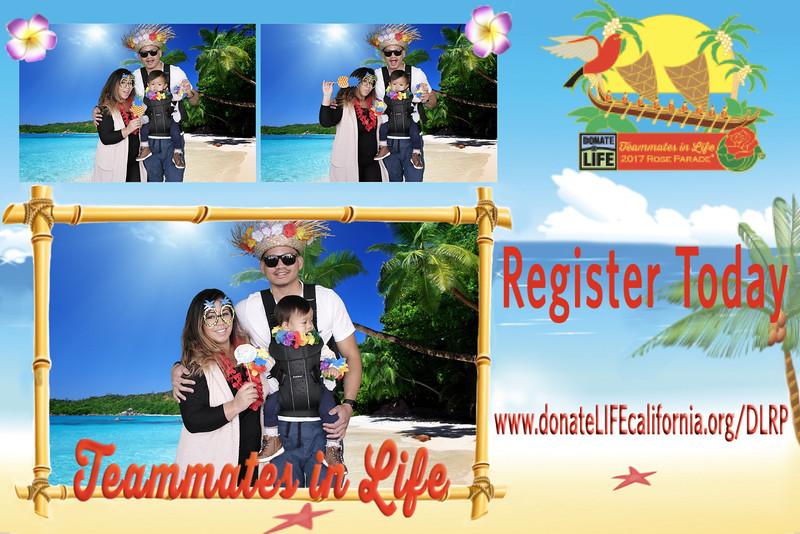 2017 Donate Life Rose Parade Float