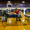 KRISTOPHER RADDER — BRATTLEBORO REFORMER<br /> Janice Evans organized an American Red Cross blood drive in honor of her son, Grady Oliver Evans, who died at age 6 months from a congenital heart defect, at Bellows Falls Union High School, in Westminster, Vt., on Saturday, Feb. 29, 2020.