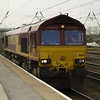 66156 on a Doncaster - Goole light engine movement