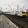 91007 with its Skyfall train heads north on 1S05 London Kings Cross - Edinburgh