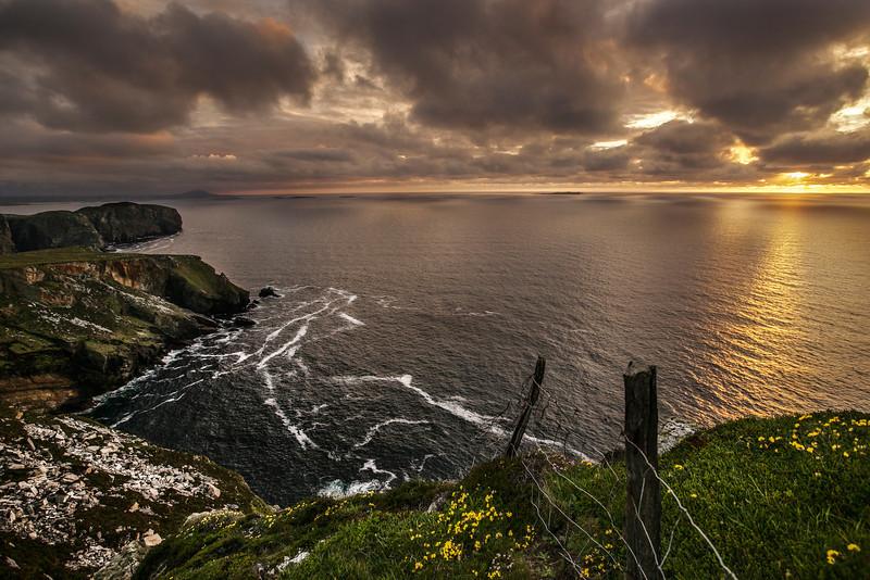 The Cliffs at Horn Head, Dunfanaghy