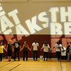 The Beat Freaks entertain hip hop for hip hop class at Donelson YMCA in Donelson Monday, September 13, 2010. Andrea