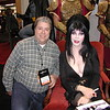 Now I can die a happy man!  Actually, we got quite chatty.  She is very gracious and sat here for 4 hours on two days of the convention signing autographs and posing with everyone.