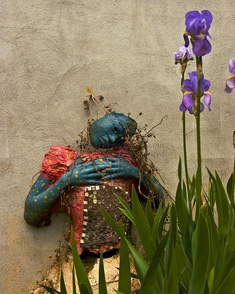 Feeling Blue<br /> Second Place winner, Artsbridge Member's Show 2009, Prallsville Mill, Stockton, NJ