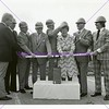 Dee Events Center groundbreaking ceremony, March 21, 1975