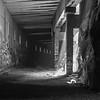Donner Train Tunnel B&W