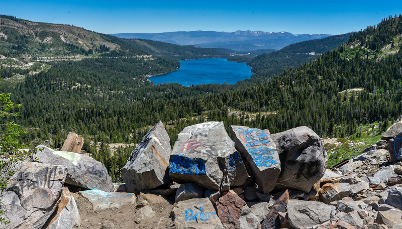 Donner Lake from the Tunnel