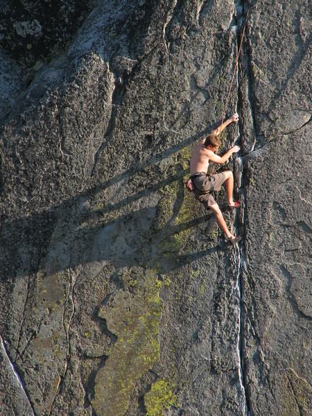 Donner Pass Rock Climber